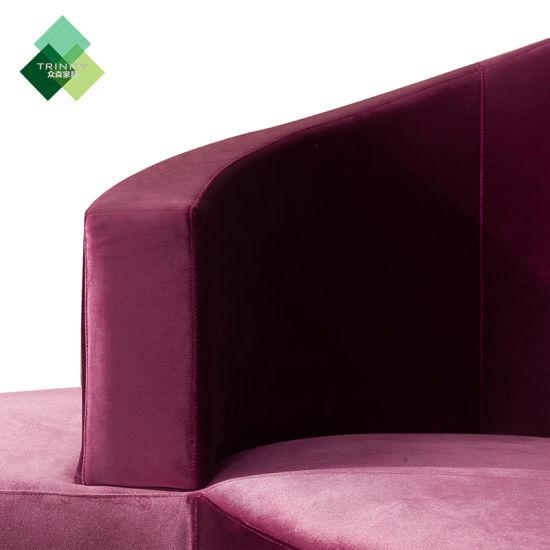 Astounding China Hot Sale Modern Design Lobby Round Sofa China Living Creativecarmelina Interior Chair Design Creativecarmelinacom