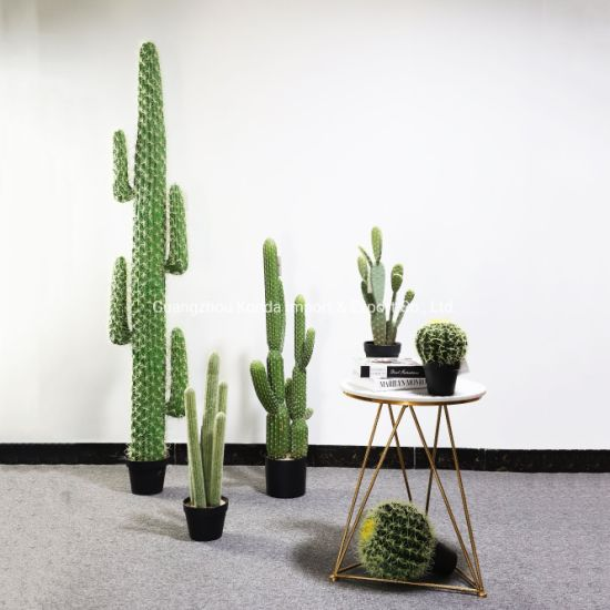 Big Size Artificial Real Touch Cactus in Pot