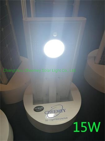15W Solar LED Street Light Integrated Solar Road Light IP65