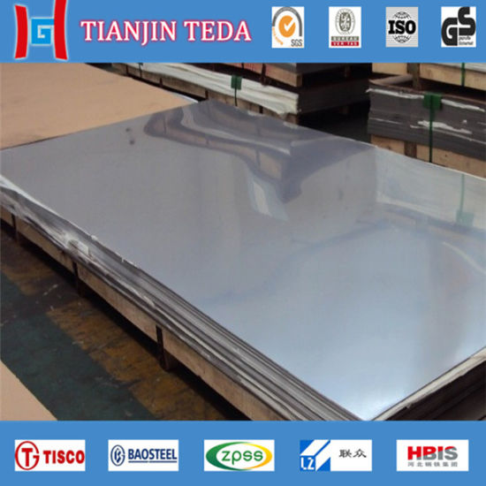 Tisco 304 304L 316 Stainless Steel Sheet Plate pictures & photos