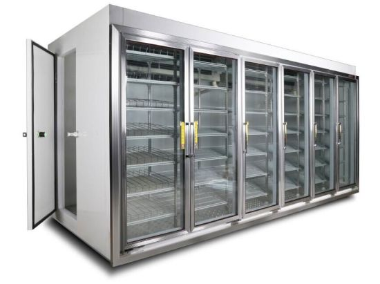 China Brand New Walk In Cooler Glass Doors With High Quality China