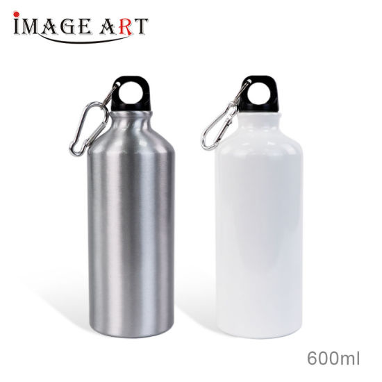 High Quality Sublimation Aluminum Sport Water Bottles 600ml