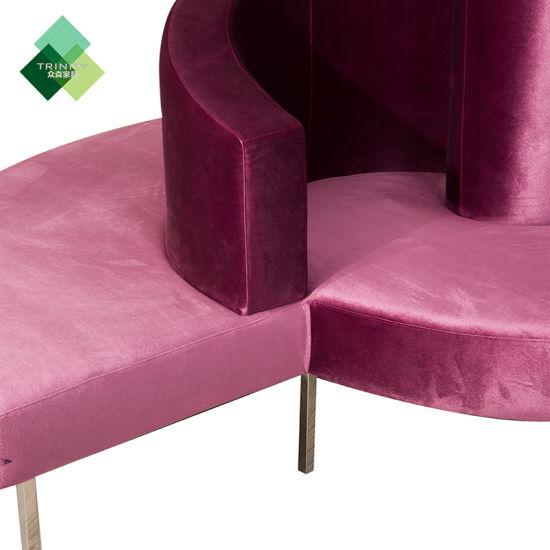 Strange China Hot Sale Modern Design Lobby Round Sofa China Living Creativecarmelina Interior Chair Design Creativecarmelinacom