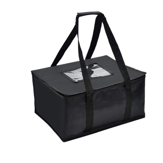 Insulated Food Delivery Bag 15n X 13in X 9in (H) Quality Thermal Insulated Food Carry Bag for Food Delivery Companies; Resuable Grocery Bag