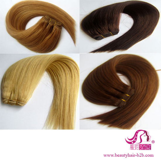 Brazilian Human Hair Weaving Straight pictures & photos