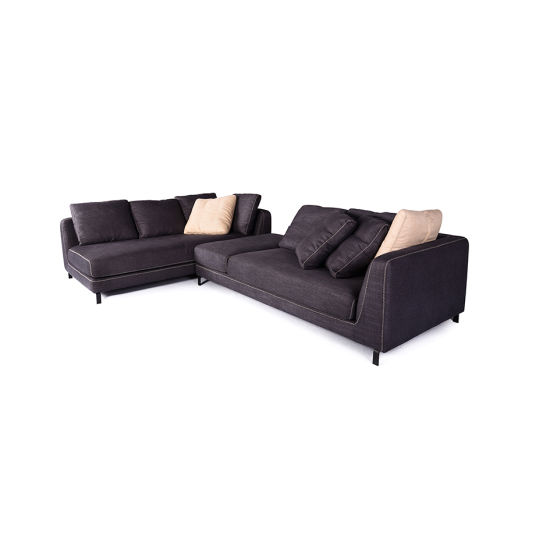 Admirable Fabric Modern Sectional Sofa With Movable Chaise Lounge Evergreenethics Interior Chair Design Evergreenethicsorg