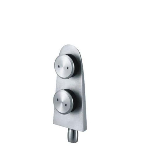 Frameless Shower Accessories Stainless Steel Glass Sliding Door Connector