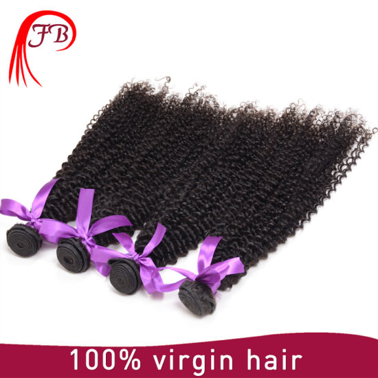 Factory Price 8A Remy Hair Wholesale Raw Unprocessed Virgin Peruvian Curly Hair pictures & photos