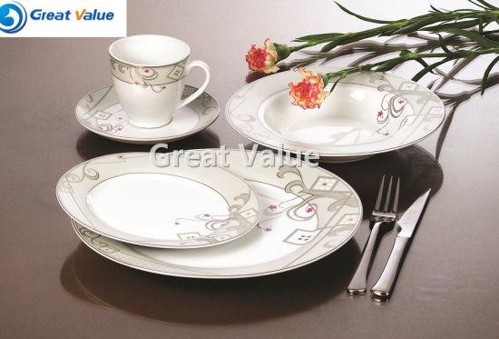 China Wholesale Best Selling Porcelain Dinnerware with Factory Price & China Wholesale Best Selling Porcelain Dinnerware with Factory Price ...