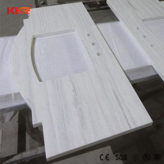 China Single Vanity Bathroom Marble
