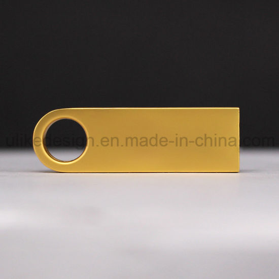 Hotest Golden USB Flash Drive (UL-M012) pictures & photos