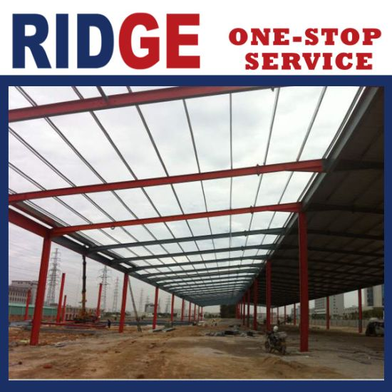Pefabricated Construction Materials Building Steel Structure for Factory Warehouse