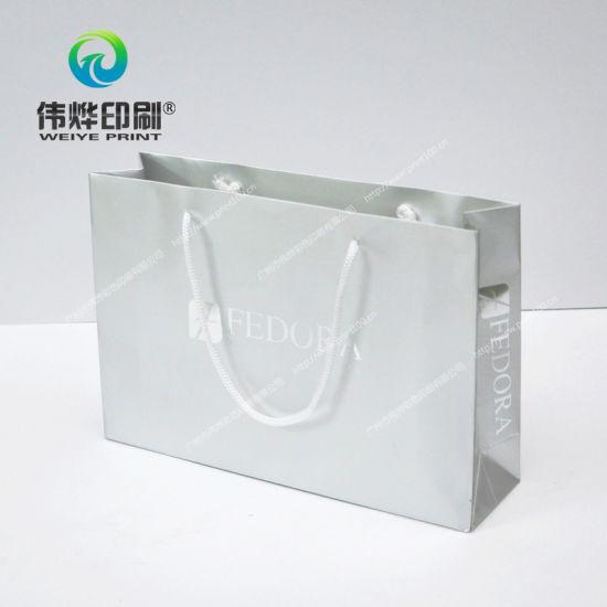 china garment pp rope printing gift bag china paper gift bag