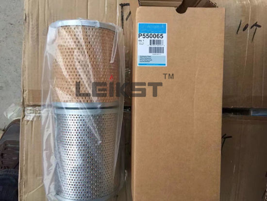 P170546/P550065/P550567/5801312864 Hydraulic Lubrication Oil Filter and Fuel Filter with Leikst Brand