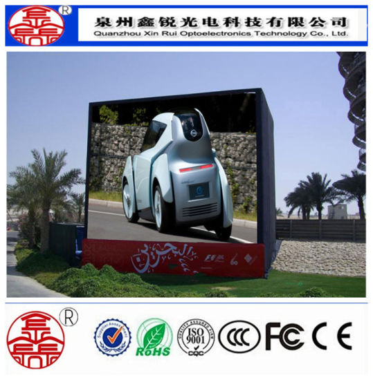 High Brightness P8 SMD Outdoor LED Advertising Screen Full Color pictures & photos