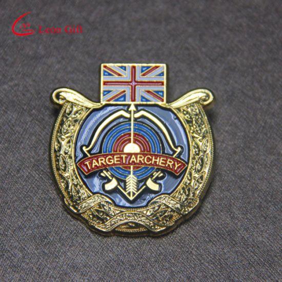 China Wholesale Custom Soft Enamel Military UK Badges
