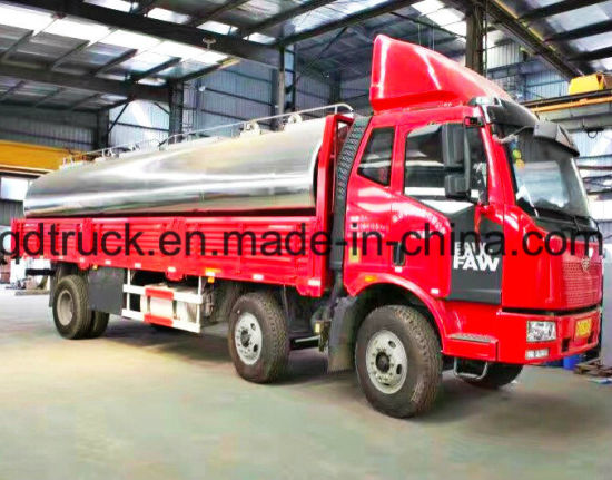 4-30cbm fresh milk tanker, milk tank truck pictures & photos