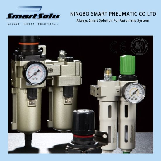 SMC Type AC Series Pneumatic Air Filter Regulator Combination