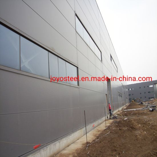 Construction Design Prefabricated Building Two Story Steel Structure Warehouse