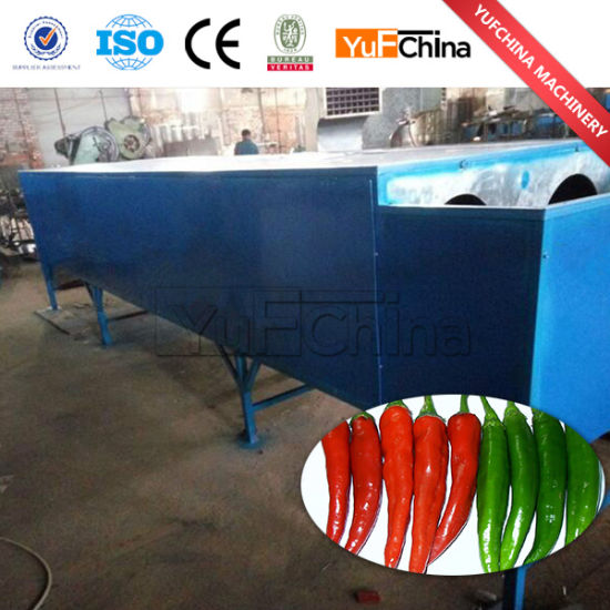 Dry and Fresh Chilli Stem Removing Machine pictures & photos