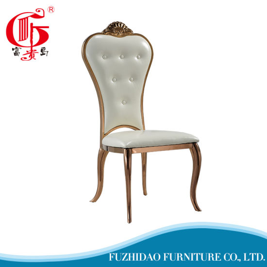Simple Design European Dining Chair For Wedding Used