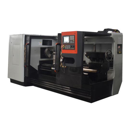 Ck6180 Horizontal CNC Lathe Heavy-Cut Metal Auto Machinery
