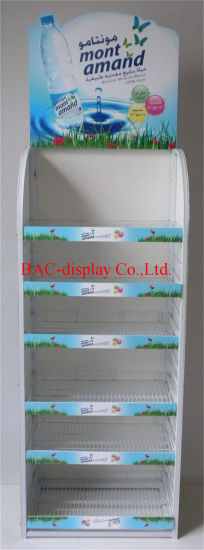 Retail Display Stand for Mineral Water Bottle Promotion pictures & photos