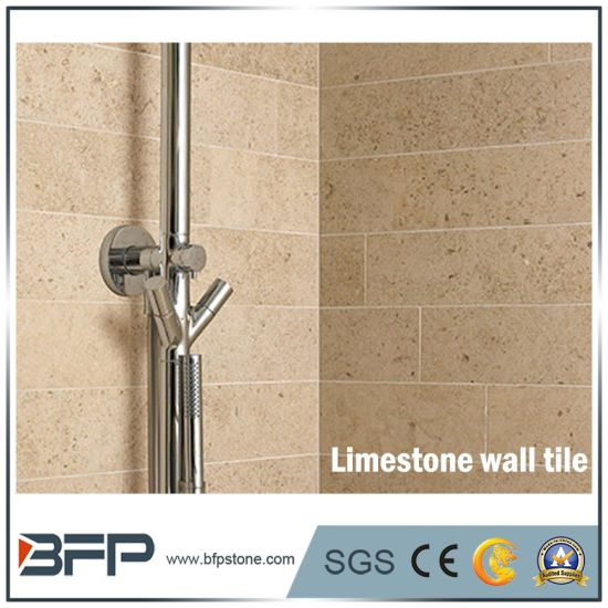 Lowes Price Limestone Decorative Wall Tile for Bedroom / Bathroom