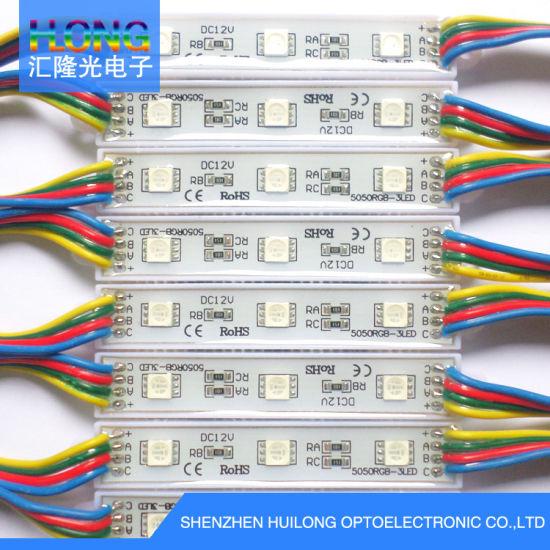 RGB LED Module 3 Leds IP65  DC12V  0.72W SMD5050