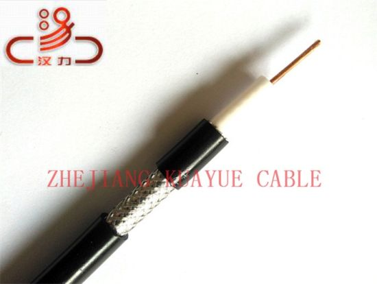 RG6 Coaxial Cable Audio Cable PE Jacket 75 Ohm pictures & photos