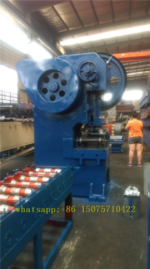 Kexinda Scaffold Walk Pedal Roll Forming Machine pictures & photos