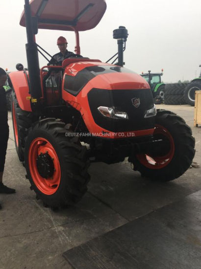 Hot Sell China Top Brand Big Size Strong 80HP Agricultural Farm Tractor