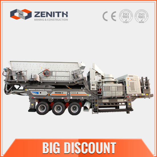 100-300tph Ore Mobile Primary Crusher pictures & photos