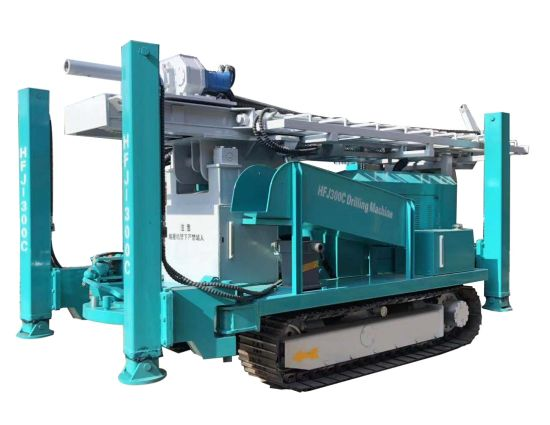 Drilling Machine, High Quality Crawler Type Water Well Drilling Rig HFJ300C