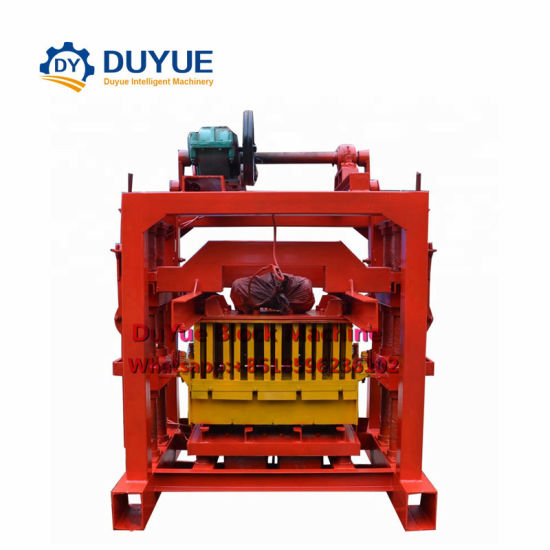 Duyue Qtj4-40 Manual Concrete Block Making Machine, Brick Making Machine pictures & photos