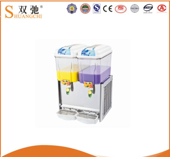 Best Price 2 Tanks Fruit Juice Dispenser for Wholesale pictures & photos