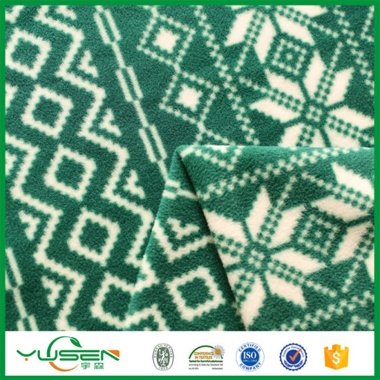 100% Polyester Cheap Polar Fleece Fabric Fleece, 100% Polyester for Sleeping Blanket pictures & photos