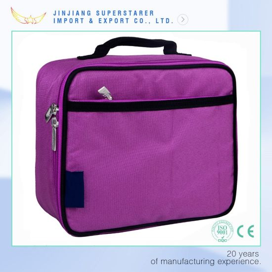 Factory OEM School Lunch Box Bag Picnic Thermal Cooler Bag pictures & photos