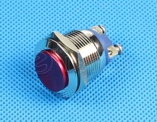 Bi-Color Momentary Push Button Switch, Power Switch (PBS-28B-2/4) pictures & photos