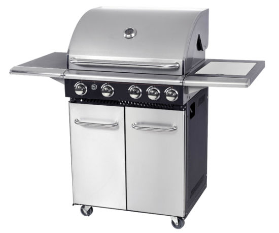 Ce Approval 4+1 Burner Natural Gas Barbecue Grill