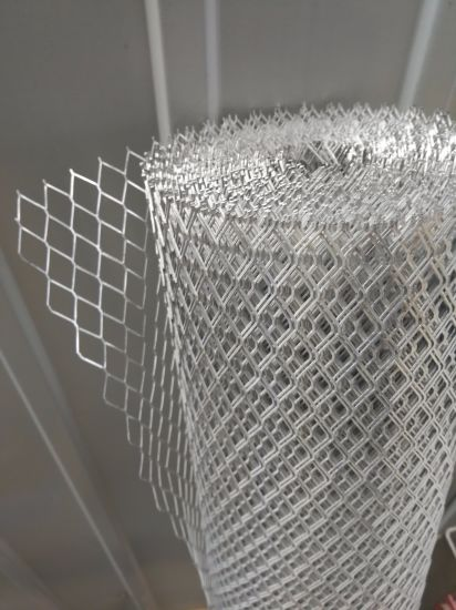 Aluminum and PVC Expanded Metal Wire Mesh
