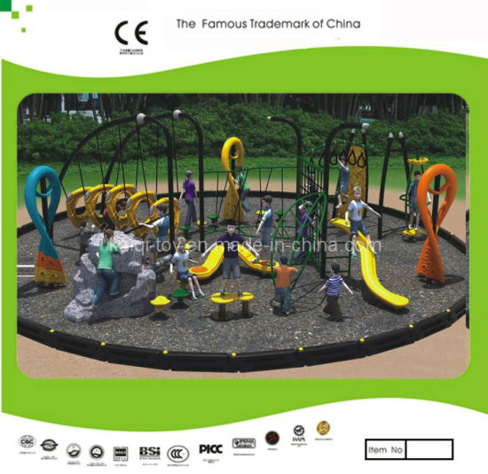 Kaiqi Outdoor Climbing Equipment Set for Children's Playground - Customisation Available (KQ10009A)