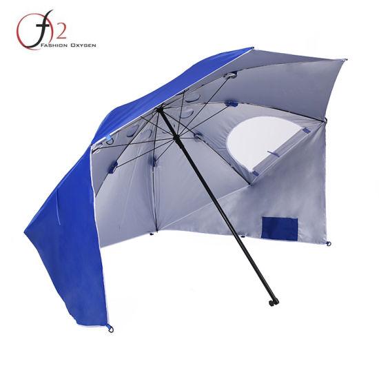 Hangzhou Supplier Family Portable Sun And Weather Shelter Tent Beach Umbrella