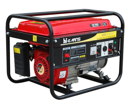 2kw Portable Gasoline Genset (GG2500) pictures & photos