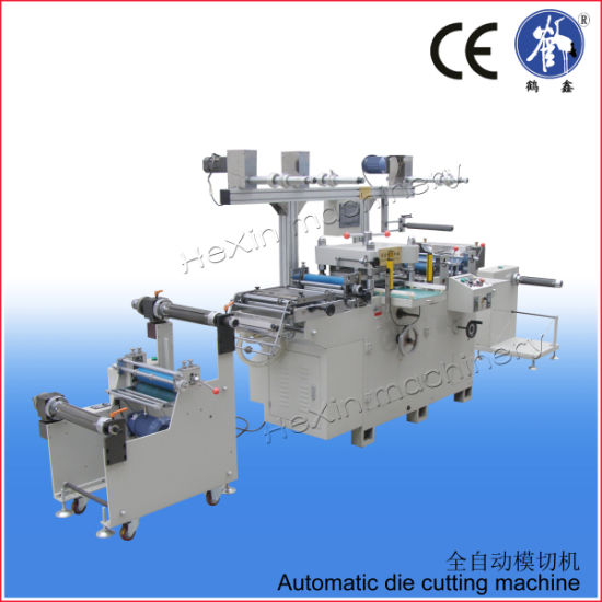 Hx-350b Automatic Aluminum Foil Die Cutter Machine pictures & photos