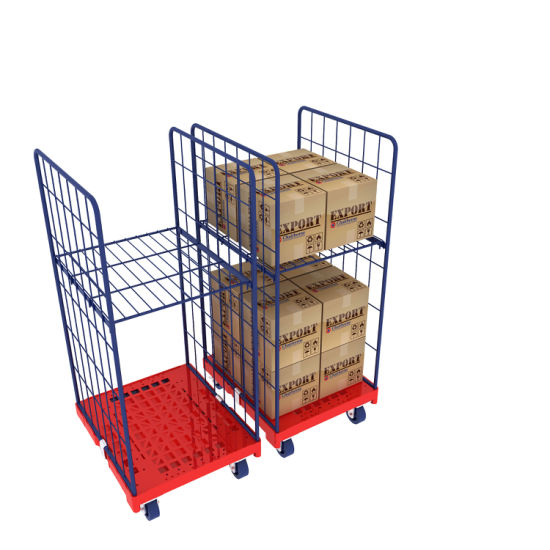 China Roll Cage Container 2 Sides for Retail Storage and