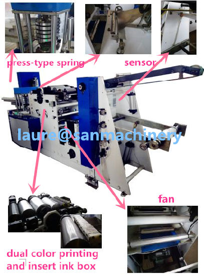 Machine for Disposable Towel Non-Woven Towel Guest Towel Hand Towel
