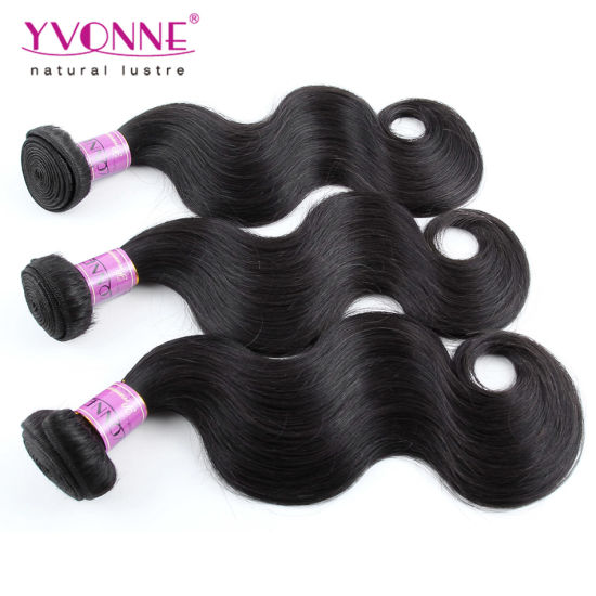 Virgin Brazilian Human Hair with Closure pictures & photos