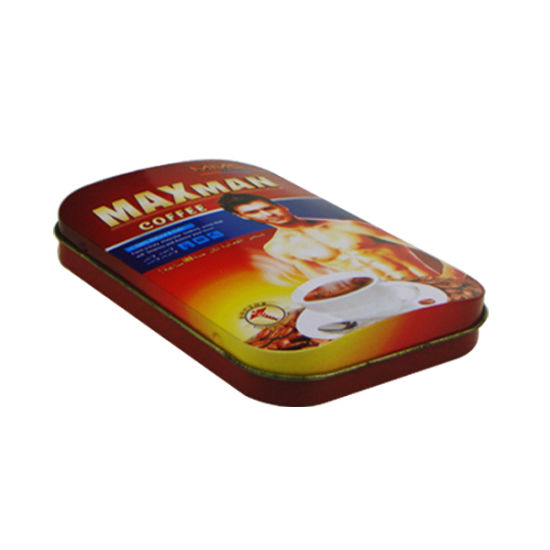 Curved Flip Tin Box for Heathy Tables Tin Box pictures & photos