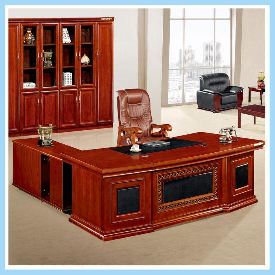Foshan Modern L Shaped Office Desk Large Unique Executive